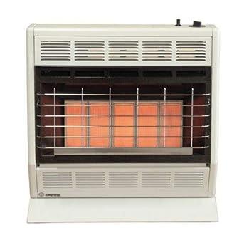 Empire Infrared Heater Liquid Propane 30000 BTU Thermostatic Control