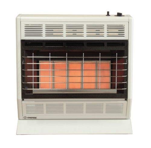 Empire Infrared Heater Liquid Propane 30000 BTU, Thermostatic Control