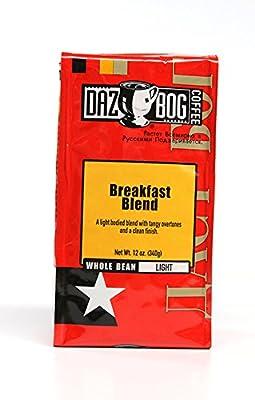 Dazbog Coffee, Breakfast Blend 12 Ounce Whole Bean