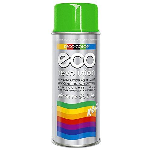 DC ECO Lackspray glänzend matt 400ml nach RAL freie Farbauswahl (Grün Glanz RAL 6018)