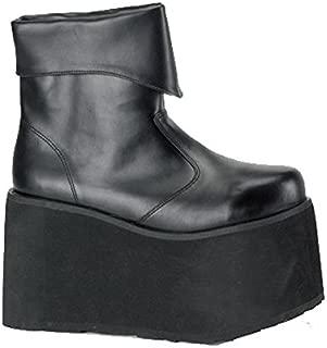 PLMONSTER-02-M Black Monster Boot Mens Size Medium