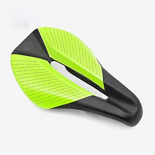 KAIBINY Asiento de Bicicleta, Hueco Transpirable Amortiguador, cómodo diseño ergonómico, cojín Unisex, Adecuado para Bicicletas de montaña Bicicletas de Bicicletas.