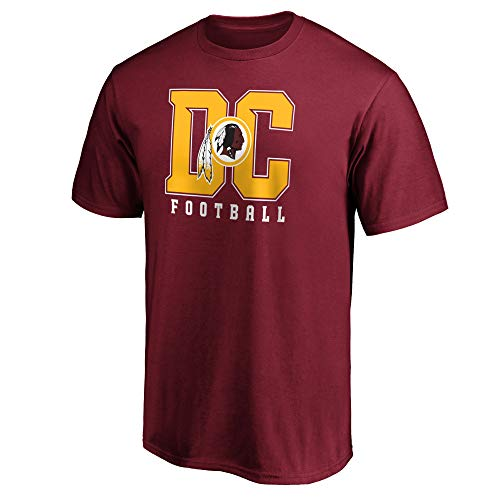 Fanatics NFL Football T-Shirt Washington Redskins Hometown Fanshirt DC Burgund (L)