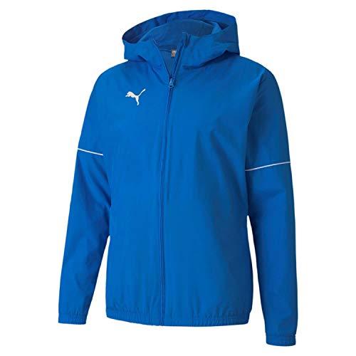 PUMA Herren teamGOAL Rain Jacket Core Regenjacke, Electric Blue Lemonade White, M