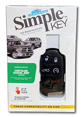 Simple Key Fob Programmer for Many Chrysler, Dodge, Jeep Vehicles with 5 Button Smart Keyless Entry Key FOB