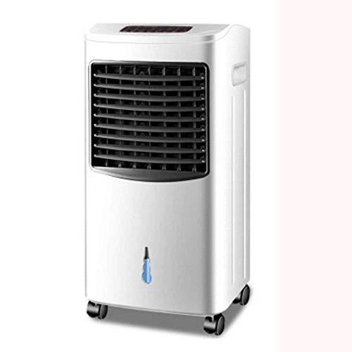 JYTBD Ventilador Aire Acondicionado doméstico/con Control Remoto/Enfriador de Carga/Aire Acondicionado portátil refrigerado por Agua (Color : White)