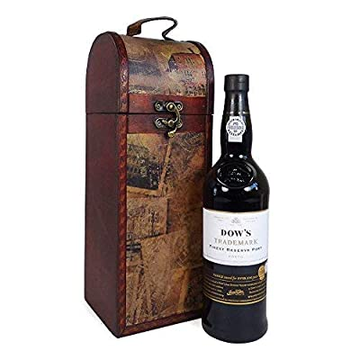 Dow's Reserve Port 75cl in our Wooden Replica Chest - Ideas for Wedding, Anniversary, Birthday, Corporate and Business