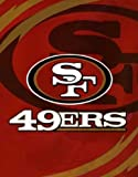 NFL San Francisco 49ers Queen Size Throw Blanket