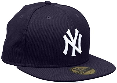 New Era Baseball Cap 59FIFTY NY Yankees MLB Cap Purple White Gr. 7 1/8