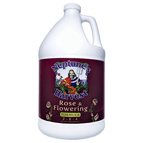 Neptune s Harvest Rose & Flowering Formula 2-6-4 (Gallon)