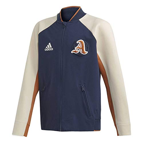 adidas Jungen Bomberjacke VRCT Jacket Collegiate Navy/Linen/tech Copper 140