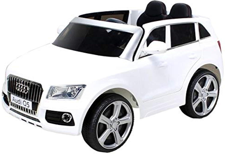 mejor vendido Infantil Coche Eléctrico Audi Q5 Q5 Q5 Licencia Original Coche Niños Vehiculo Infantil Electro Auto Juguete para Niños - blancoo  ahorra 50% -75% de descuento