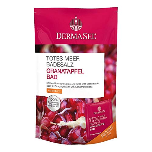 DERMASEL Totes Meer Badesalz+Granatapfel SPA 1 P