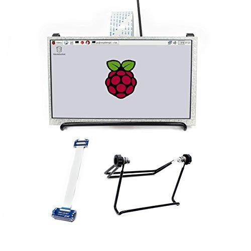 7 Inch TFT LCD Display 1024x600 IPS Screen Monitor with dpi Interface for Raspberry Pi 3 B+/3 B/2 B/Zero/Zero W Support Raspbian, Ubuntu, OSMC