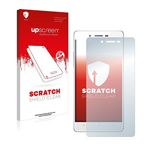 upscreen Schutzfolie kompatibel mit Oppo Mirror 5s – Kristallklar, Kratzschutz, Anti-Fingerprint