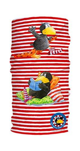 Panther Kleiner Rabe Socke | Kinder Schlauchschal | Atmungsaktives Multifunktionstuch | Made in Germany