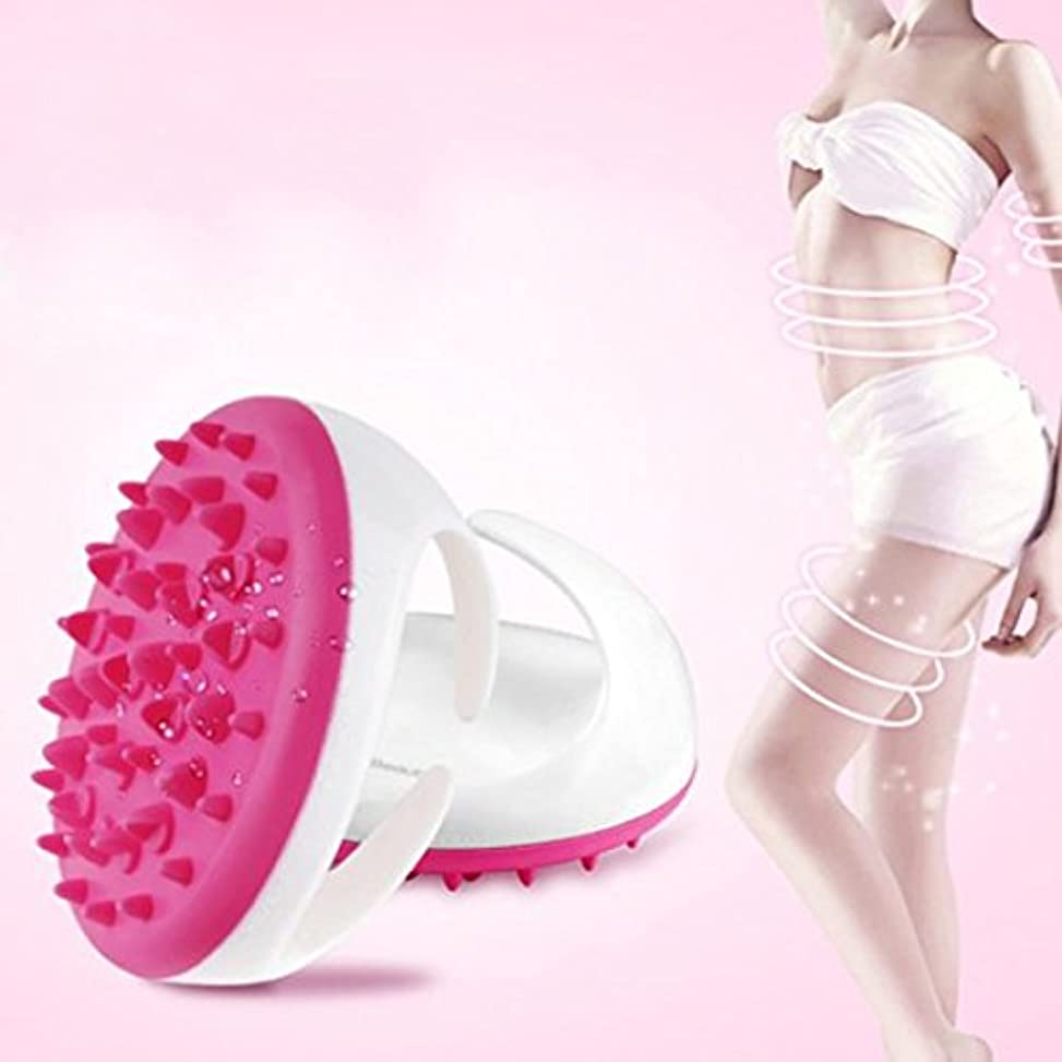 Carejoy マッサージ ブラシ ボディ シェイプ 美形 ダイエットブラシ 血液循環新陳代謝を促進 腹部 臀部 足など用  ピンク グリーン パープル色ランダムに発送