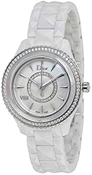 Dior VIII Mother of Pearl Dial Ceramic Ladies Watch