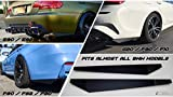 Rear Bumper Splitters extension fits BMW CF M3 335i 340i 328i E92 E90 E93 F30 F80 G20 BMW 07-20 3 series