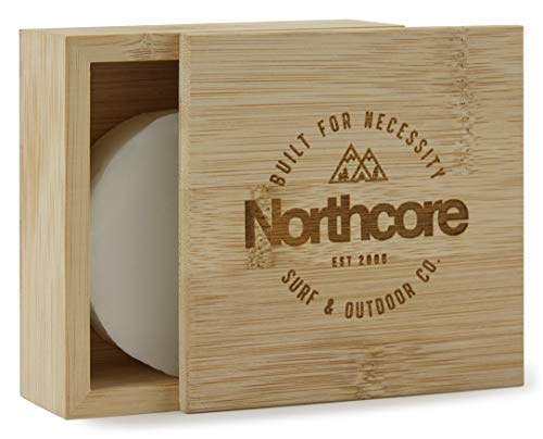 Northcore Bamboo Surf Wax Box