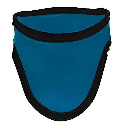 Thyroid Shield/Collar with SteriTouch Color Cyan .50mm PB Light Weight Radiation Protection