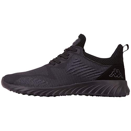 Kappa Unisex-Erwachsene MONTEBA OC Sneaker, 1111 Black, 37 EU