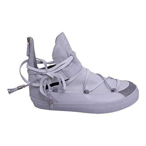 IKKII Damen Schuhe Ankle Tomkin Farbe weiß (41)