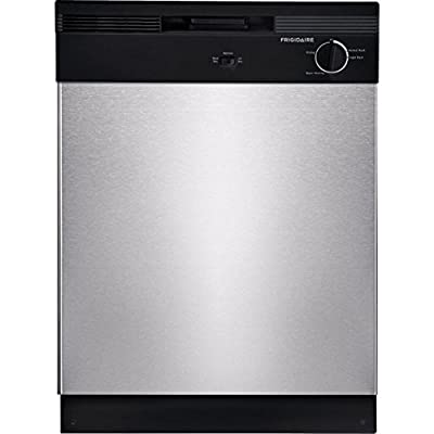 Frigidaire FBD2400K 24 Inch Built In Dishwasher with 2 Wash Cycles, 12 Place Settings, Hard Food Disposer