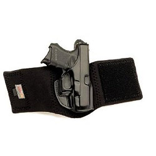 Galco Ankle Glove/Ankle Holster for Sig-Sauer P239 9mm (Black, Right-Hand)