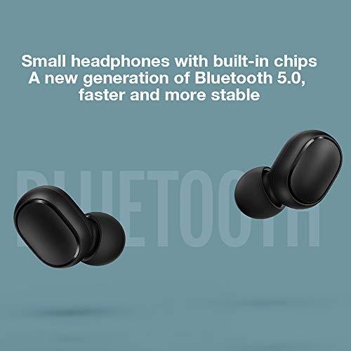 Xiaomi Mi True Wireless Earbuds Basic - Auriculares inalámbricos, Bluetooth con verdadero sonido estéreo con micrófono, Negro miniatura