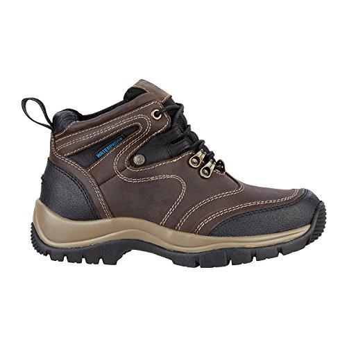 SUEDWIND FOOTWEAR Stiefelette »Trail WP« mit Schnürung - Waterproof. Bequeme Reitschuhe aus Echtleder mit Ortholite Sohle | Tolle Passform | Stiefel-Schuh Größen 35-45 | Farbe: Schwarz-Braun