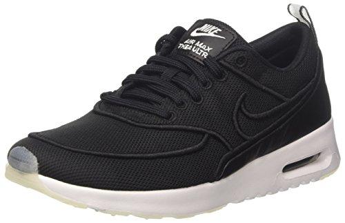 Nike Wmns Air MAX Thea Ultra Si, Entrenadores Mujer, Negro (Black/White/Glacier Blue), 39 EU