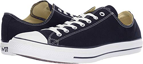Converse Chuck Taylor All Star Ox, Zapatillas Unisex Adulto, Negro (Black/White), 39 EU