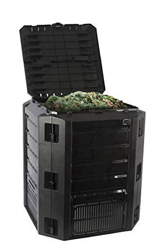 Komposter, 380l -umweltfreundliche Kompostierung von Bioabfall