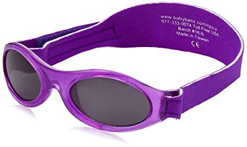 Bonsana AG KidzBanz Adventure - Babysonnenbrille (0 - 2 Jahre), Purple