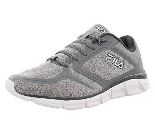 Fila Women's, Memory Aspect 8 Running Sneakers Gray 9 M