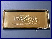 矢沢永吉超レアGOLD TRAY(ロゴ)DMゴールドトレイDIAMOND MOON オフィシャル金色×1枚デッドストック