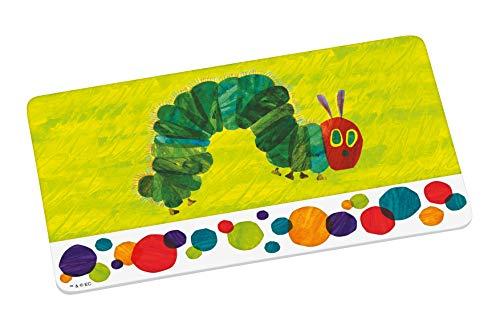 Raupe Nimmersatt 12520 grün Brotbrett, Frühstücksbrett, Frühstücksbrettchen, Brett, Brettchen, Melamin
