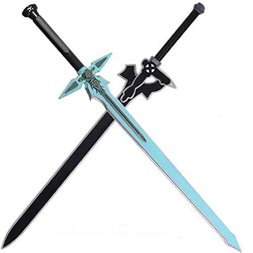 damdos PU Foam 31.5inch Dark Repulser Kirito Kirigaya Sword Kirigaya Kazuto Halloween Cosplay Yuuki Asuna Black Sword(2pcs/Sets)
