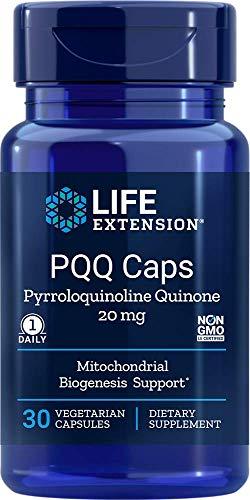 Life Extension PQQ Caps, 20 Milligrams, 30 Vegetarian Capsules
