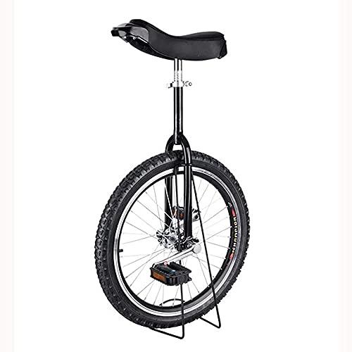 YVX Bici Senza Pedali, Monociclo per Bimbo e Bambina con Ruote da 16'/ 18' / 20'/ 24', Adulti Bambini Grandi Unisex Adulto Principiante Monocicli Gialli, Carico 150 kg