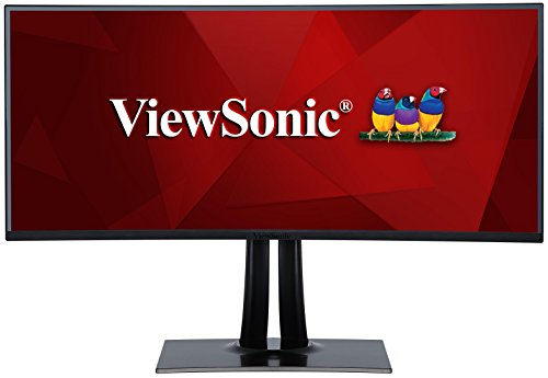 ViewSonic VP3881 38 Inch WQHD+ UltraWide Curved Monitor USB Type...