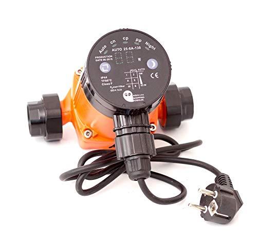 Heizungspumpe Umwälzpumpe Hocheffizienzpumpe Klasse A SK Auto 25-6A/130 (130 mm = Einbauhöhe) Förderhöhe 6m
