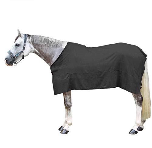 NANXCYR Standard Neck Lite Turnout Deken Sneldrogend Warm Zweetabsorberend Absorberend Paardenkleding Paardensport