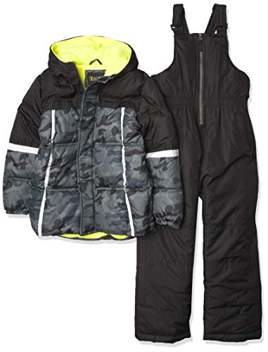 iXtreme Boys' Promo Snowsuits, Black, 5