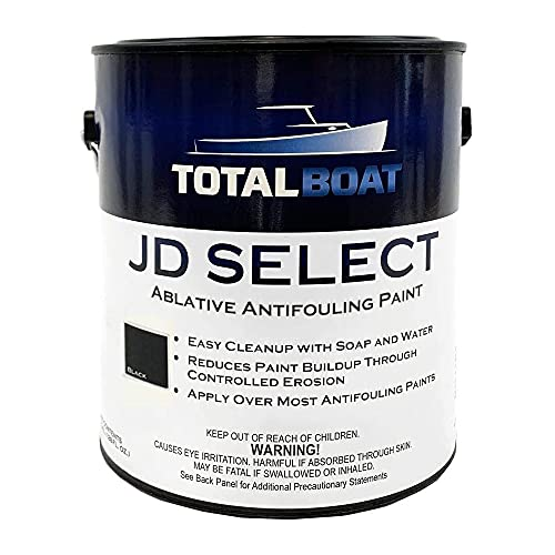 TotalBoat JD Select Bottom Paint (Black, Gallon)