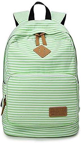 LFSHUB Fashion School Rucks e Für Jugendliche Teenager mädchen Leinwand Gestreiften Rucksack Schultasche mädchen Frauen Reisetasche