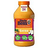 Uncle Bens Korma Indian Cooking Curry Sauce - Bulk 2.23 kg , 24 servings