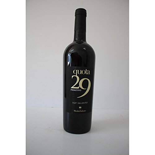 Quota 29 Primitivo Salento Menhir italienischer Rotwein (0,75l Flasche)