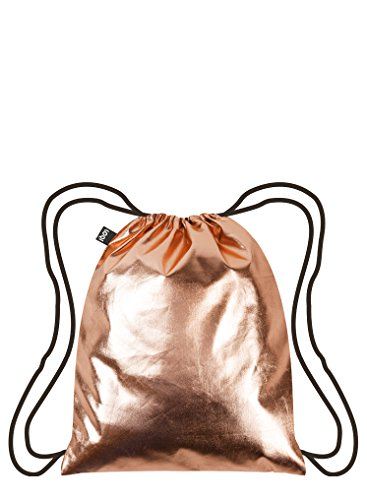 LOQI METALLIC Rose Gold Backpack - Rucksack